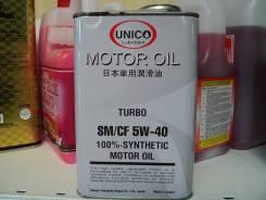 Unico. Вязкость 5W-40, синтетическое