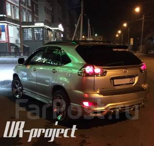 Спойлер. Lexus: RX300, RX330, RX350, RX400h Двигатели: 1MZFE, 3MZFE, 2GRFE
