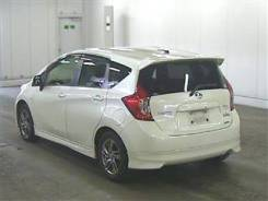 Обвес кузова аэродинамический. Nissan Note, E12