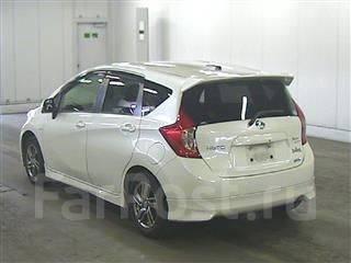 Обвес кузова аэродинамический. Nissan Note, E12. Под заказ