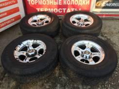 Bridgestone Dueler H/P D680. Летние, 2012 год, износ: 10%, 4 шт