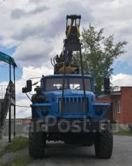 Урал 55571. Лесовоз с ГМ, 11 150 куб. см., 12 000 кг.