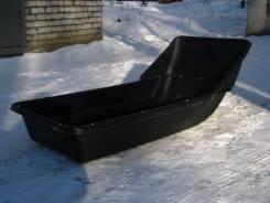 Сани-волокуши с отбойником и без для снегохода и мотобуксировщика