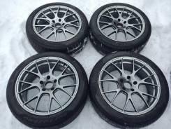 Диски Motec на зимних шиних Pirelli Sottozero 245/45R19. 9.0x19 5x120.00 ET30 ЦО 72,6мм.