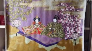 Японская картина на рисовой бумаге