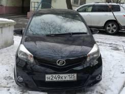 Toyota Vitz. вариатор, передний, 1.3 (95 л.с.), бензин, 79 351 тыс. км