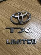 Эмблема. Toyota Land Cruiser Prado, GRJ121W, VZJ120W, KDJ121W, LJ125, VZJ121W, TRJ120W, KDJ120W, GRJ120W, LJ120, RZJ125W, KDJ125, RZJ125, KZJ120, KDJ1...