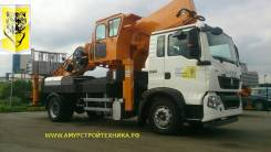 Hansin HS 450A. Автовышка 45 метров, 6 650куб. см., 45,00м.
