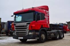 Scania P400. Седельный тягач 2013 г/в, 12 740 куб. см., 28 100 кг.