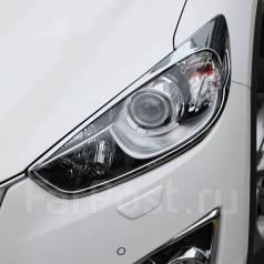 Накладка на фару. Mazda CX-5, KEEFW, KF, KFEP, KE5AW, KE2FW, KE, KF5P, KE5FW, KF2P, KE2AW Двигатели: PEVPS, PYVPS, SHVPTS
