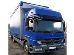 Mercedes-Benz Atego. Мерседес-Бенц Атего 1224, 2011г, шторный грузовик 50м3, г/п 7т, 6 374 куб. см., 7 000 кг.