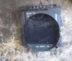 Радиатор охлаждения двигателя. Toyota Hilux Surf, LN130W, LN130G Двигатель 2LTE