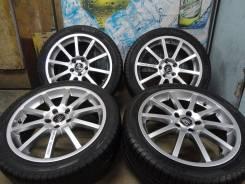 Продам Редкие Стильные колёса Sport Technic+Лето 215/45R17Toyota, Honda. 7.0x17 5x114.30 ET50