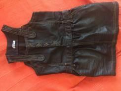 Сарафаны джинсовые. Рост: 98-104, 104-110 см