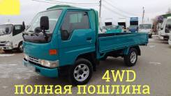 Toyota Dyna. 4WD, борт 1,5 тонны, 3 000куб. см., 1 500кг.