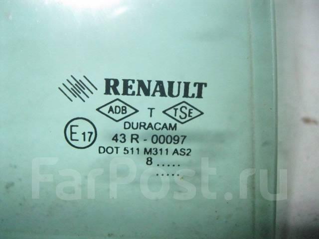 Стекло боковое. Renault Megane Двигатели: F4R, F9Q, K4J, K4M, K9K, M9R