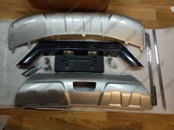 Накладка на бампер. Nissan X-Trail