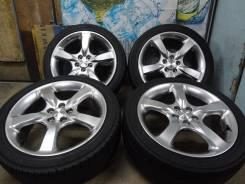Продам Стильные Под Чёр. Хром колёса Subaru Legacy+Лето 215/45R17. 7.0x17 5x100.00 ET55