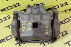 Суппорт тормозной. Nissan Sentra, B16U, B16X Nissan Juke, F15, F15E, NF15, SUV, YF15 Двигатели: MR20DE, HR16DE, HRA2DDT, K9K, MR16DDT, HR15DE