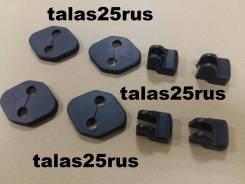 Накладки на петли дверей Toyota C-HR ( 8 деталий )