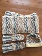 Шапка, шарф и варежки. 55-59