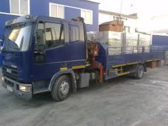 Iveco Eurocargo. Iveco EuroCargo Кран борт, 6 000куб. см., 7 000кг., 4x2