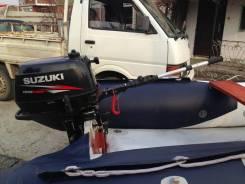 Suzuki. 5,00л.с., 4-тактный, бензиновый, нога S (381 мм), Год: 2010 год