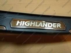 Накладка на бампер. Toyota Highlander, ASU50, GSU55, GSU50 Двигатели: 2GRFKS, 1ARFE, 2GRFXS. Под заказ