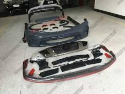 Обвес кузова аэродинамический. Nissan Patrol, Y62. Под заказ