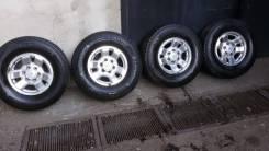 Срочно! шины+диски 275/70/16 на Surf/Prado/Terrano/Patrol/Pajero. 8.0x16 6x139.70 ET15 ЦО 110,0мм.
