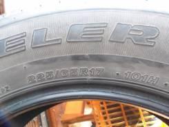 Bridgestone Dueler H/T D687. Летние, 2008 год, износ: 60%, 1 шт