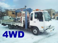 Эвакуатор 4WD С Краном + 2 Лебедки.