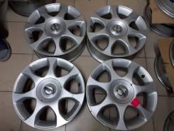 Nissan. 6.0x16, 4x100.00, ET42, ЦО 60,1мм.