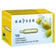 Баллончики для сифона для газирования воды (CO2) 10 шт/уп. Kayser (Австрия)