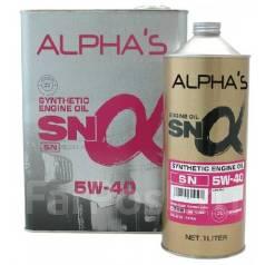 Alpha's. Вязкость 5W-40, синтетическое