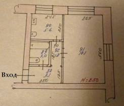 1-комнатная, шоссе Комсомольское 77. Ленинский, агентство, 31 кв.м.
