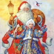 Ростовые куклы на Новый год и Рождество