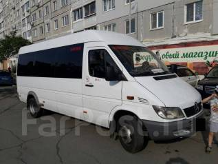 Mercedes-Benz Sprinter. Автобус D категория, 2 200 куб. см., 18 мест