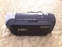 Sony HDR-PJ410. с объективом
