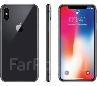 Apple iPhone X. Новый, 256 Гб и больше, Серый