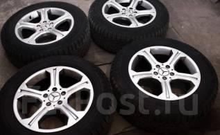 Комплект колес Mercedes. 7.5x17 5x112.00 ET47.5