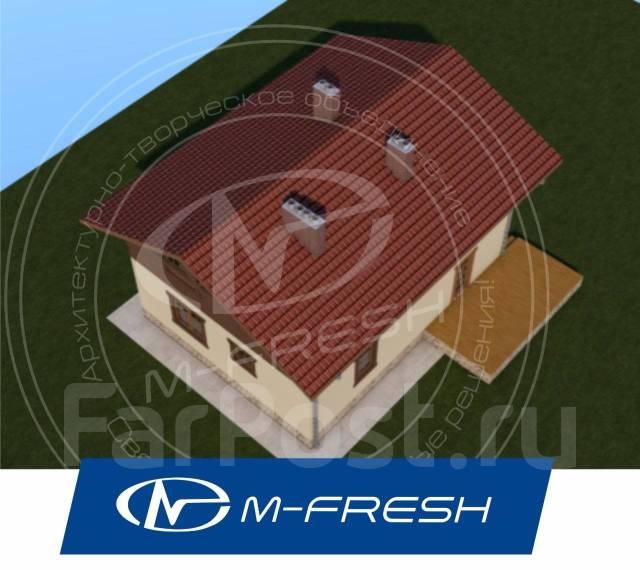 M-fresh Tomas (Проект рассчитан только для счастливой семьи! ). 100-200 кв. м., 2 этажа, 5 комнат, каркас