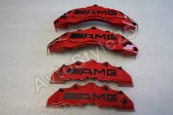 Накладки на суппорта Mercedes G-class, AMG , красные. Mercedes-Benz G-Class