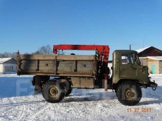 ГАЗ 66. Продам Газ 66 самосвал с манипулятором, 4 260 куб. см., 4 000 кг.