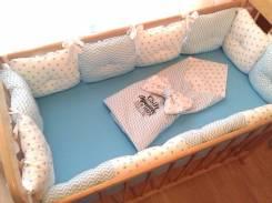 Бортики в кроватку. Под заказ