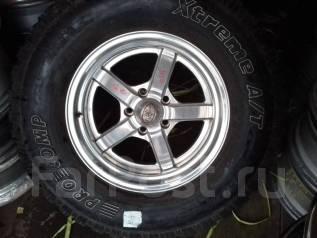 Кованые американские диски R17 с шинами 285/70R17. 8.0x17 5x127.00 ET0