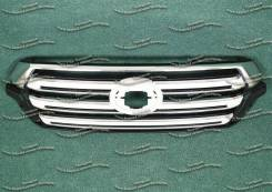 Решетка радиатора. Tesla Model S Toyota Land Cruiser, GRJ200, J200, URJ200, UZJ200, UZJ200W, VDJ200 Двигатели: 1GRFE, 1VDFTV, 2UZFE, 3URFE