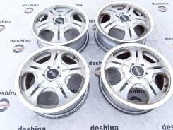 Комплект литых дисков Moltty (артикул 80995л). 5.0x13, 4x100.00, 4x114.30, ET45, ЦО 73,0мм.
