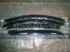 Ветровики SsangYong New Actyon 11-, Korando C 11- (черные) A132