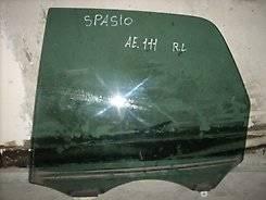Стекло двери Toyota Corolla Spacio, левое заднее